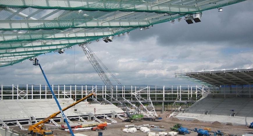 Malta: Costruzione dell'edificio per Xghajra Tornadoes Football