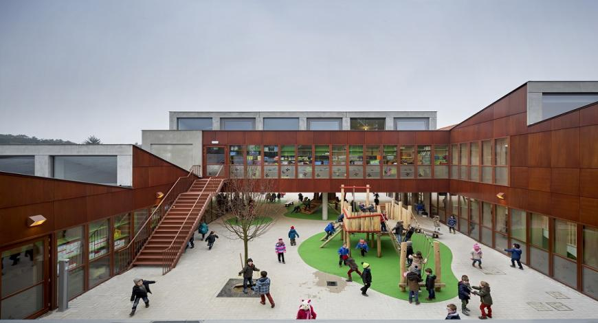 Italia- Montebelluna : nuovo plesso scolastico delle scuole primarie di Biadene e Pederiva