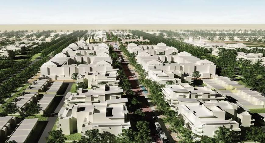 Emirati Arabi: progettazione e costruzione di edifici per la città di Al Mirfa