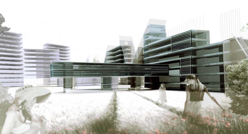 Zurigo, svizzera. bando di gara progettazione Campus