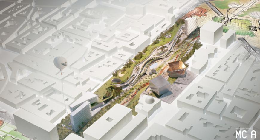 Losanna, svizzera. bando di gara progettazione spazi pubblici