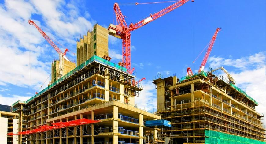Lavori di costruzione di edifici