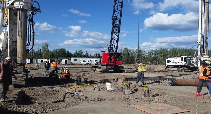 Lavori di costruzione per attività estrattive e manifatturiere