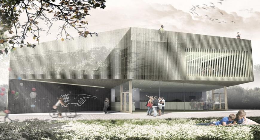 Realizzazione del nuovo involucro con recupero della facciata su via Paolo Borsellino