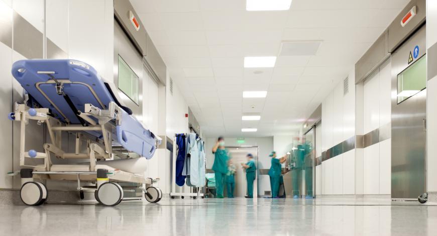 Lavori di ampliamento e ristrutturazione dell'edificio principale dell'ospedale S  Lorenzo