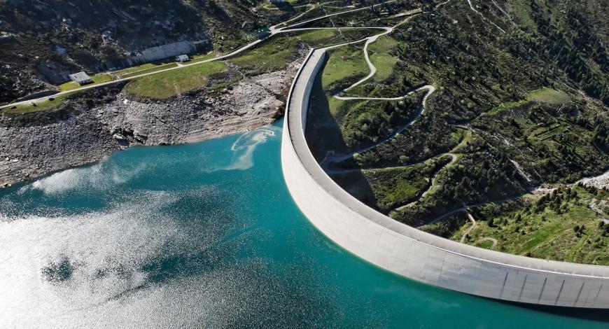 Lavori di mitigazione del rischio idrogeologico versante Nord-Est