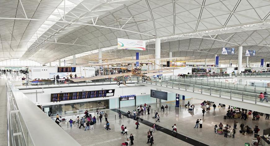 Lavori di costruzione di edifici aeroportuali