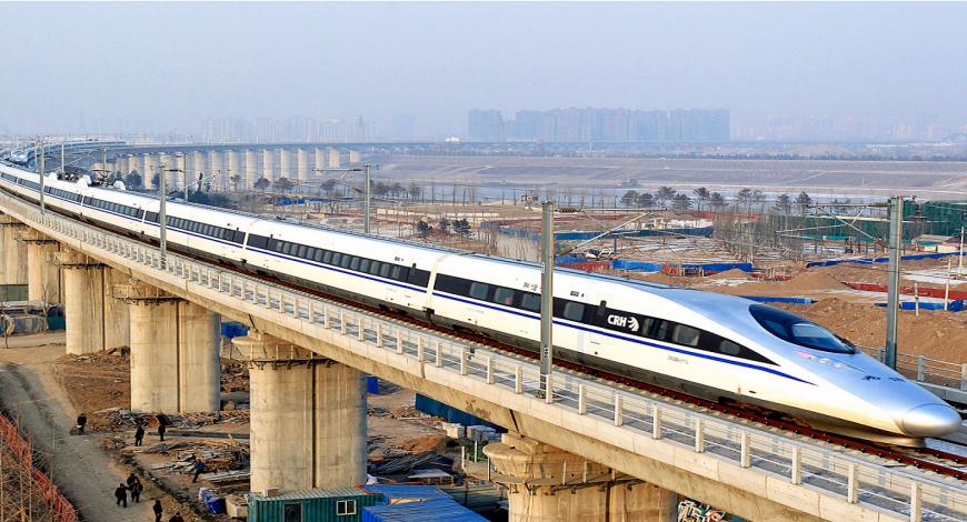 Lavori di costruzione ferroviari