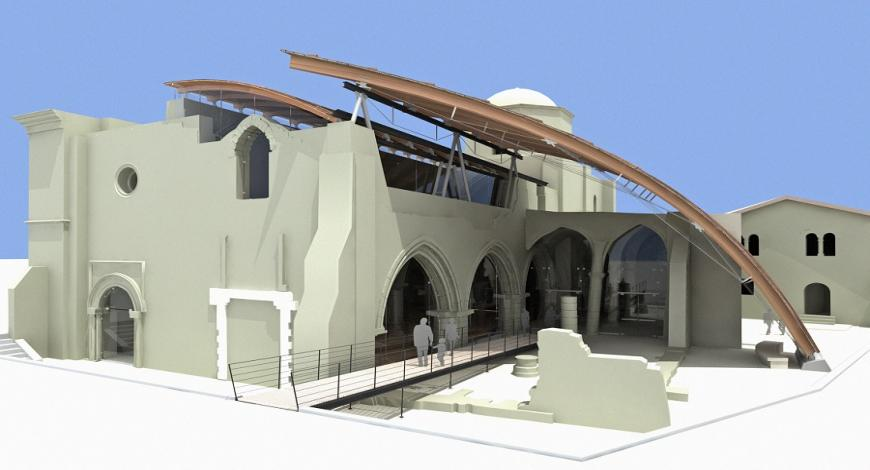 Servizio di sviluppo del progetto principale e di realizzazione dell'intera ricostruzione