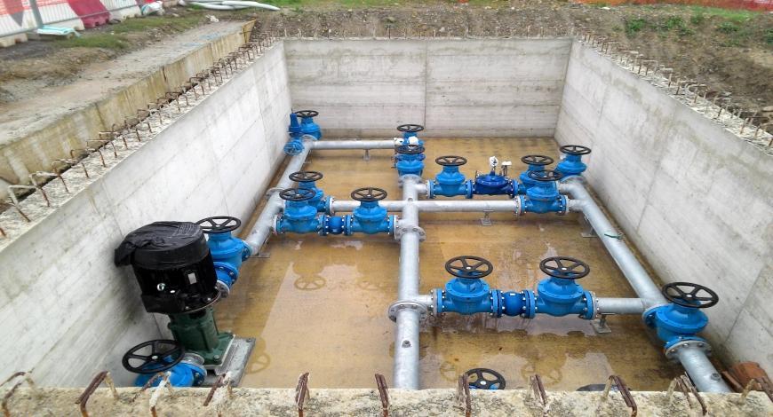 Miglioramento dei sistemi di drenaggio e trattamento delle acque reflue negli agglomerati urbani dell'Umag
