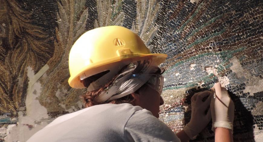 Malta: restauro delle pareti di Molla