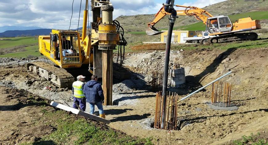 Croazia: costruzione del sistema di irrigazione pubblico Cervar Porat